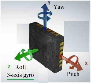 3-axis gyro sensor
