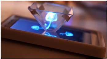 3D Hologram using Smartphone
