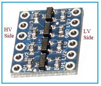 4-channel Bi directional Level shifter