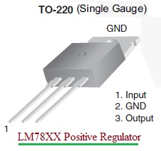 78XX Voltage Regulator