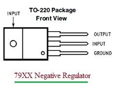 79XX Voltage Regulator