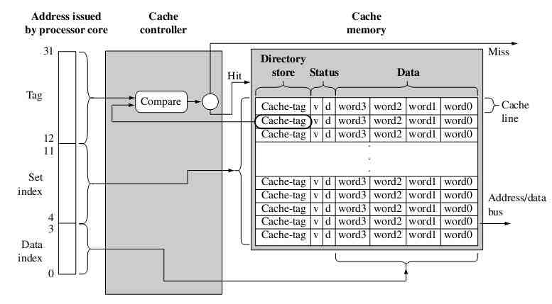 ARM cache architecture