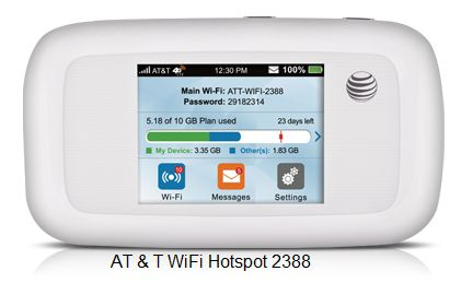 AT&T wifi hotspot