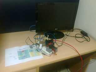 Beaglebone black IP web server