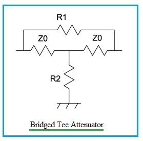 Bridged Tee Attenuator
