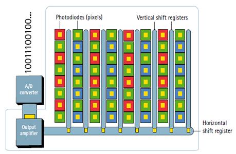 CCD sensor array