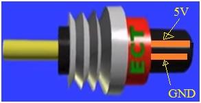 Coolant Sensor structure