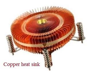Copper heat sink