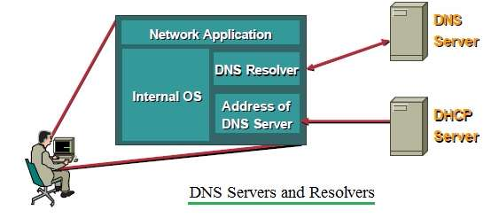 DNS servers and resolvers