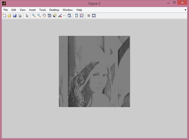 DWT image compression after step1