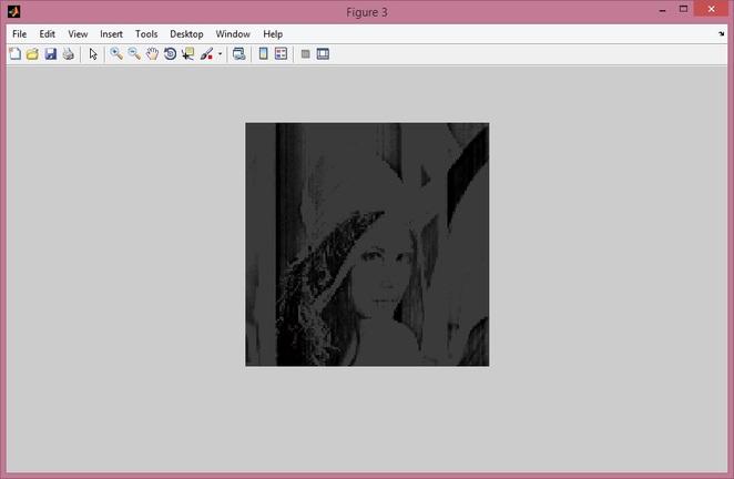 DWT image compression after step1
