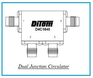 Dual Junction Circulator