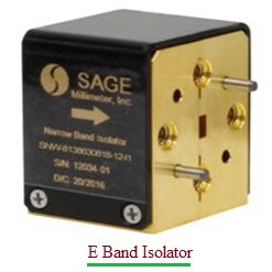 E Band Isolator