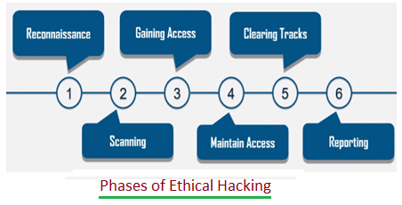 Ethical Hacking phases