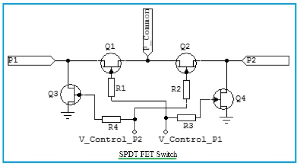 FET SPDT switch