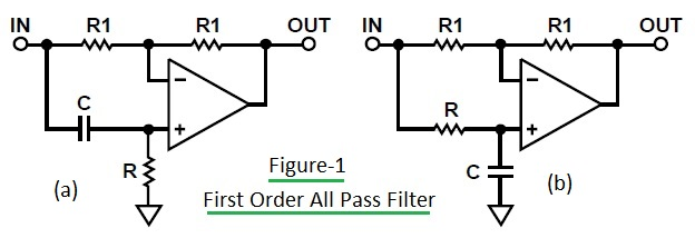 First Order All-Pass Filter