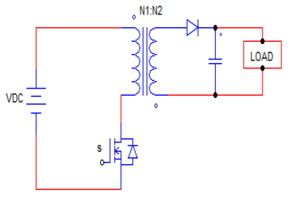Fly-back converter circuit