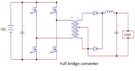 Full bridge converter