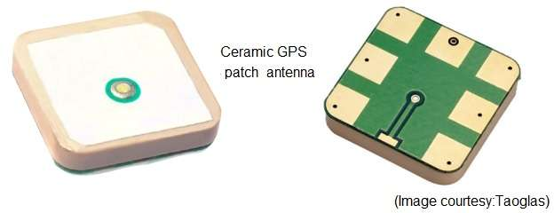 GPS Antenna Ceramic patch type