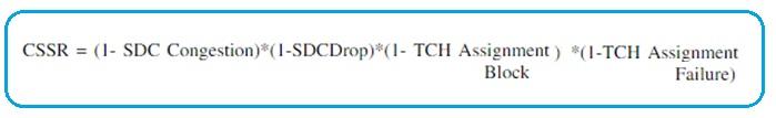 GSM KPI CSSR formula