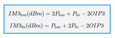 IM3 formula