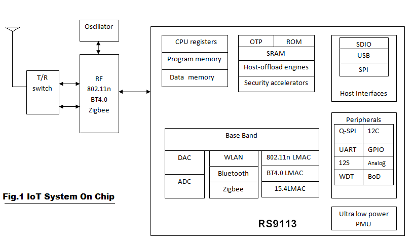 IoT SoC, System On Chip in IoT