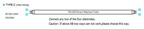 LED tube type-C