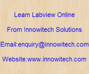 Labview training banner