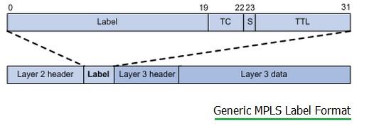 Generic MPLS label format