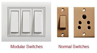 Modular Switch vs Normal Switch