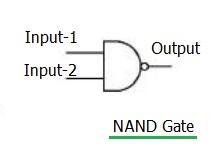 NAND logic gate