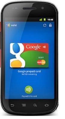 Google Nexus NFC Phone