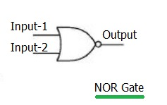 NOR logic gate