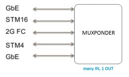 Optical Muxponder