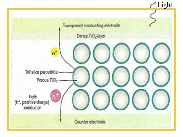working of Perovskite solar cell