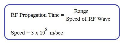 RF propagation time formula