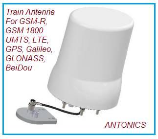 Rail Antennas for Trains