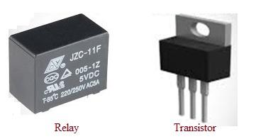 Relay vs Transistor