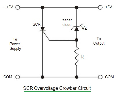 scr crowbar circuit scr crowbar overvoltage circuit rh rfwireless world com Frequency Transformer Circuits Simple Voltage Regulator and Rectifier Circuit