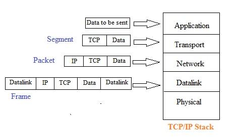 Segment vs Packet vs Frame