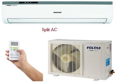 Split AC system