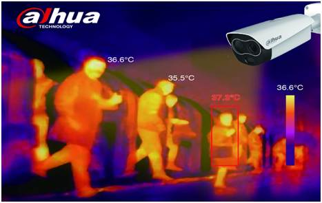Thermal camera to measure body temperature