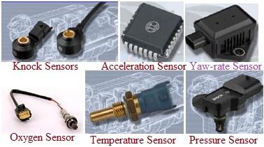 types of Vehicle sensors