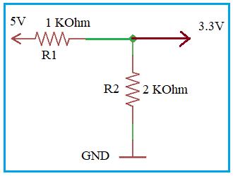 Voltage Level Converter 5V to 3.3V