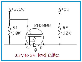 Voltage level shifter
