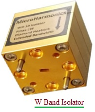 W Band Isolator