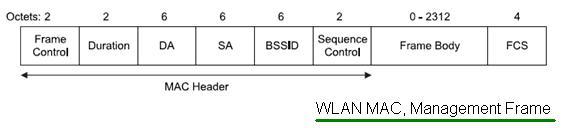 WLAN MAC Management Frame