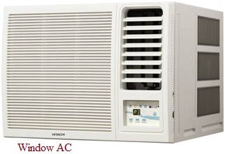 Window AC system