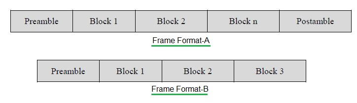 Wireless M-Bus Frame formats