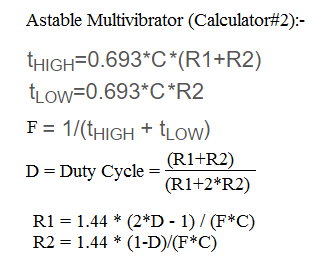 astable multivibrator formula2